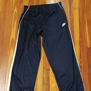 Nike Navy Blue Mens Large Track Pants Mens Size La